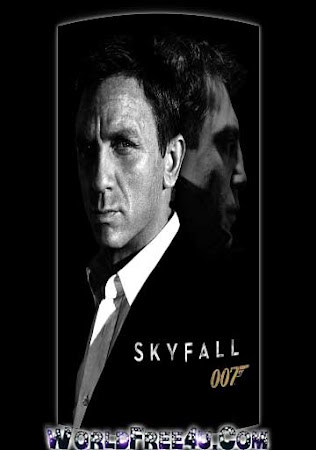 Poster Of Skyfall In Dual Audio Hindi English 300MB Compressed Small Size Pc Movie Free Download Only At worldfree4u.com