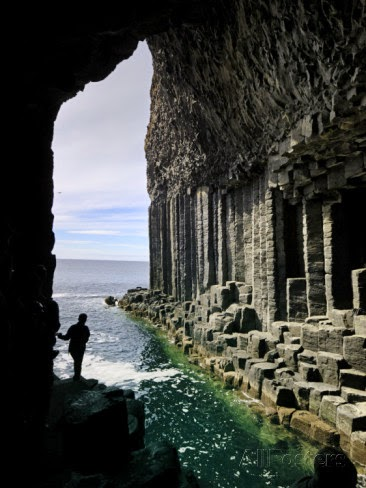 Amazing Caves in the World - Fingal's Cave in Staffa, Scotland