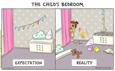 This Post is about family funny images and pictures with baby, how parents expect from babies and how they respond in reality. very funny reality pictures.