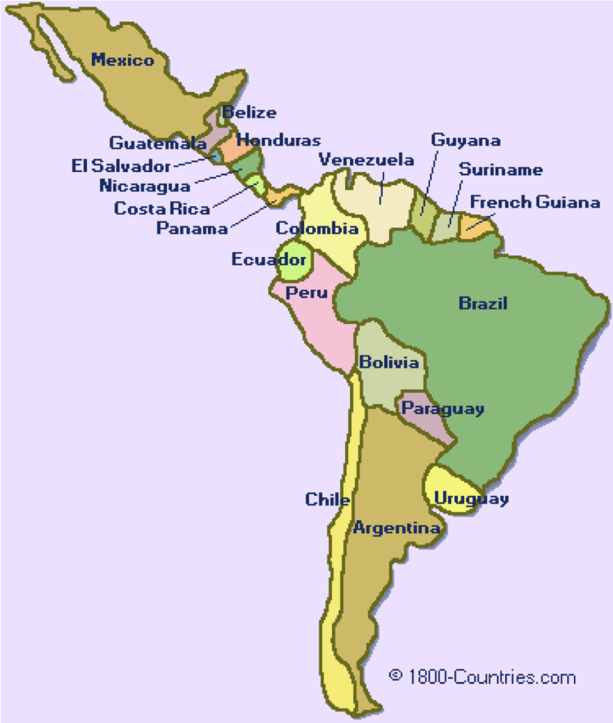 Spanish Speaking Countries In Latin America 52