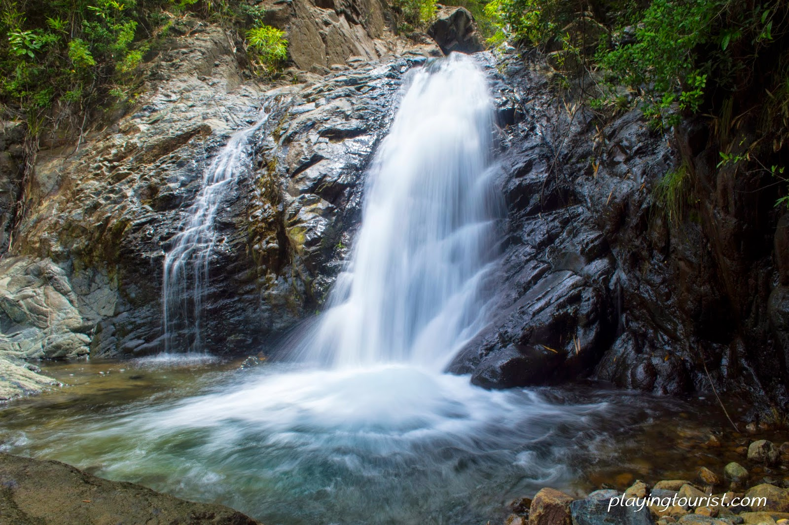 Pundaquit Falls vs. Capalngan Falls