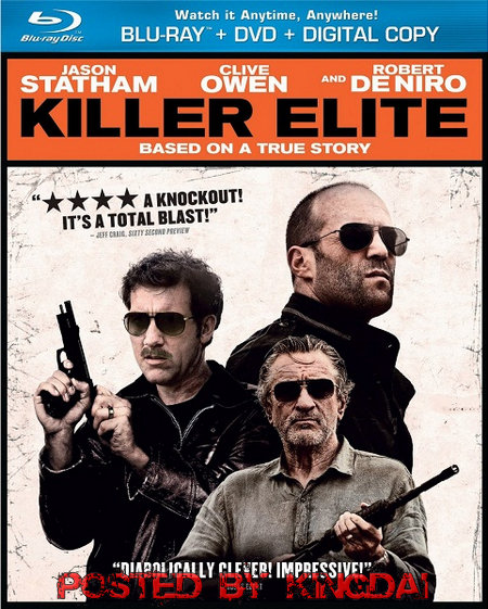 Killer Elite 2011 Daul Audio 720p BRRip 600Mb HEVC x265