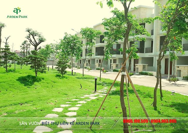 Biệt thự Arden Park Long Biên, biệt thự Long Biên Hà Nội Garden Villas, biệt thự Hà Nội Garden City Long Biên
