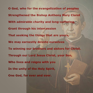 Bishop Saint Anthony Mary Claret