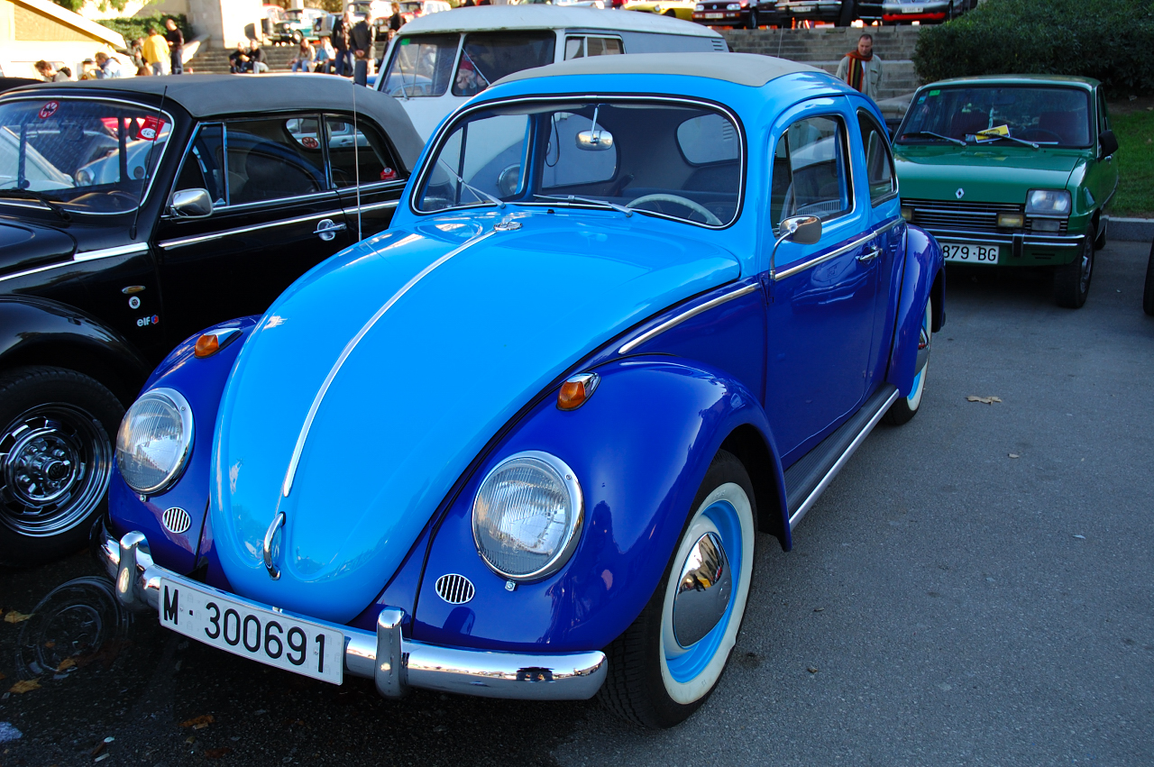 Classic Cars: Beetle VW in Blue