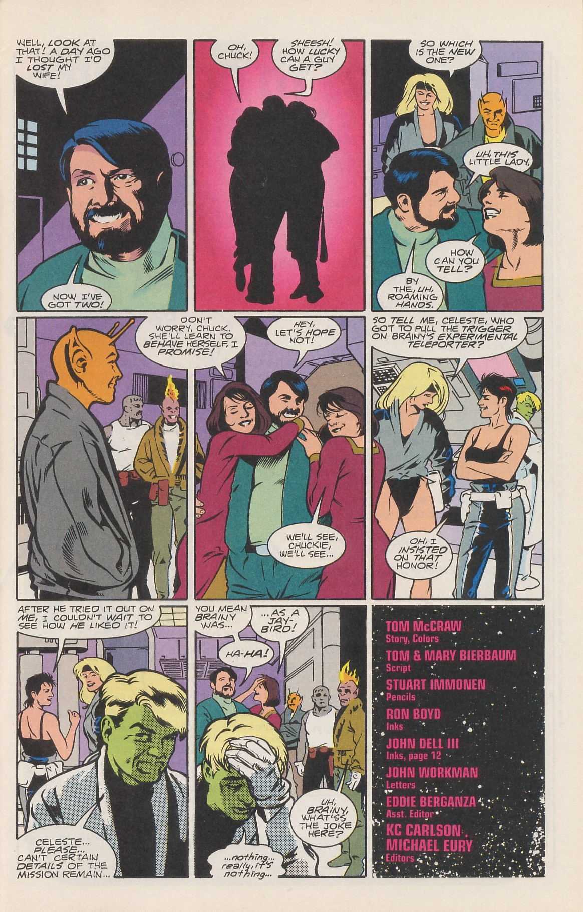 Legion of Super-Heroes (1989) 42 Page 28