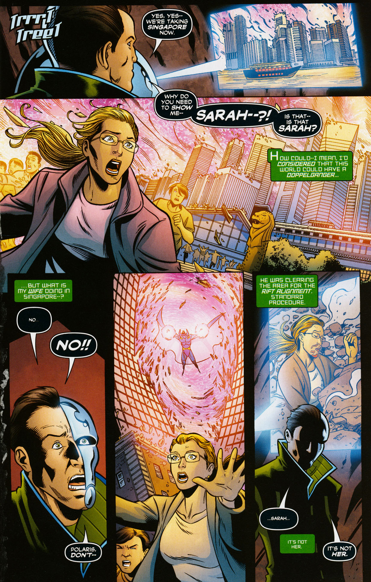 Read online Trinity (2008) comic -  Issue #35 - 16