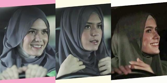 """Tutorial Gaya Hijab Ala """"Bia"""" Carissa Putri Pada Film Hijab"""