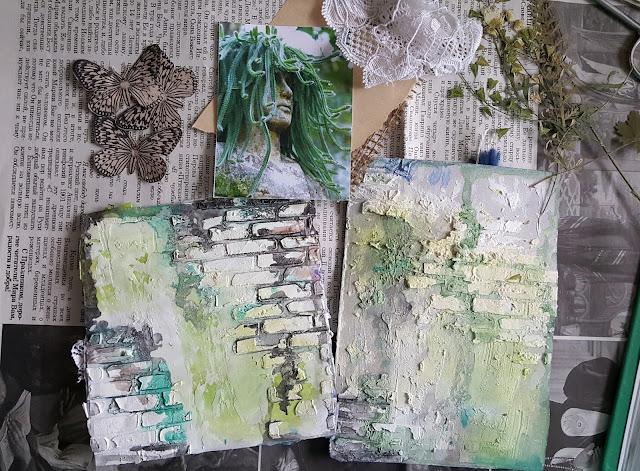 арт-бук, джанк-бук, микс-медиа, сухоцветы