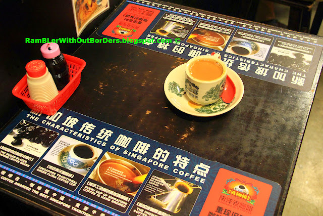 Table, Nanyang Old Coffee, Chinatown, Singapore