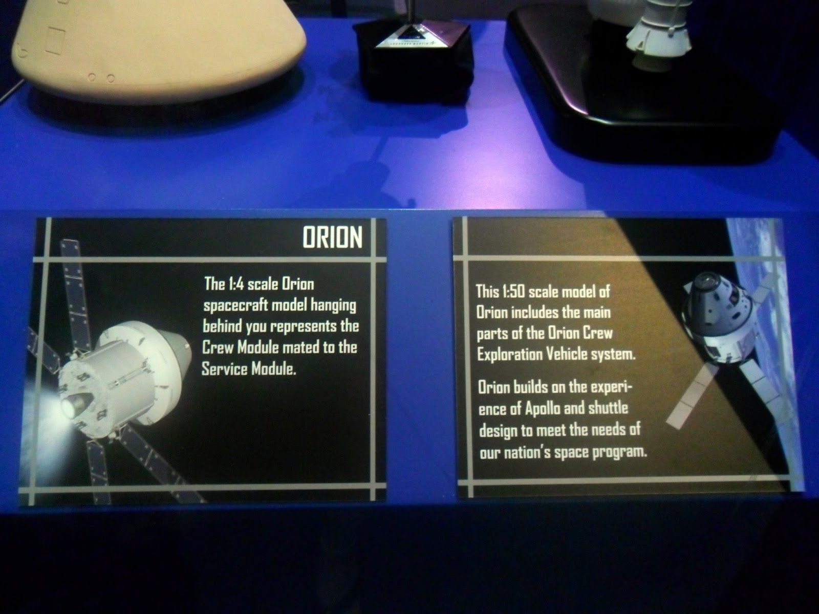 Orion Spacecraft Display Model - Pics about space