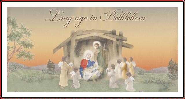 Long ago in Bethlehem