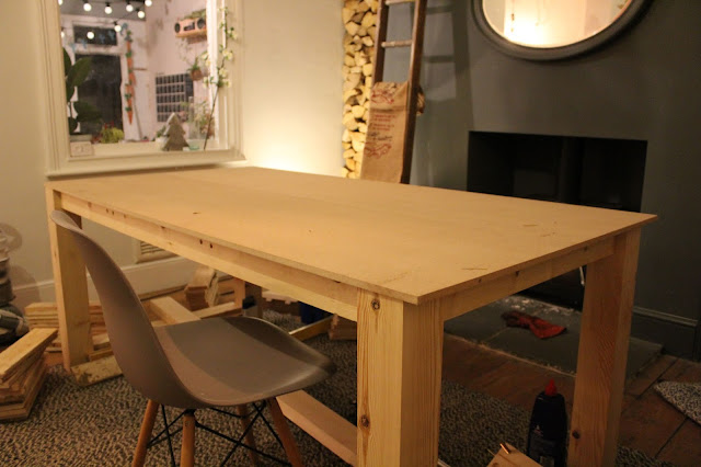 MDF top Dining Table