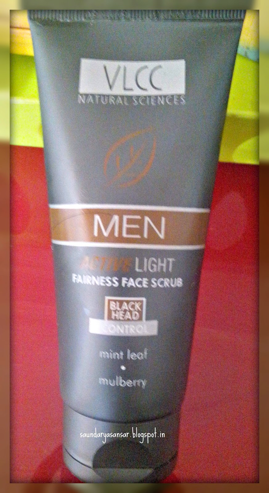 VLCC Active Light Face Scrub for Men Review
