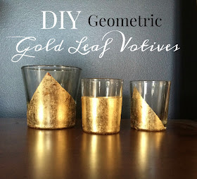 how to apply gold leaf to glass