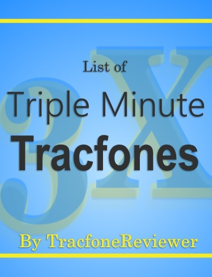 TracfoneReviewer: Tracfone Triple Minute Cell Phones (And How it Works)