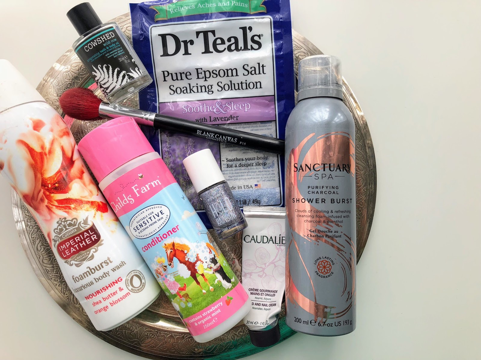 body care empties, empty products