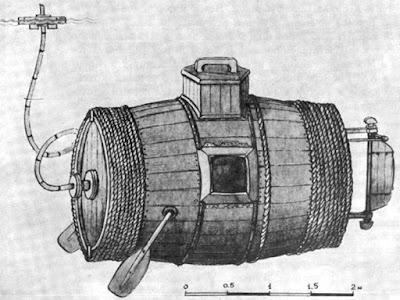 www.fertilmente.com.br - Desenho de Yefim demonstrando como o sistema de oxigênio funcionaria em seu design