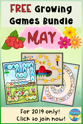 Join the free 2019 Growing Games Bundle now! Only at Looks Like Language!