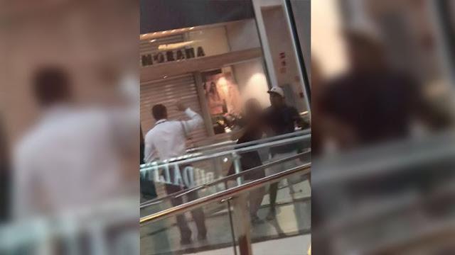 bandido faz mulher refém e causa pânico dentro de shopping em Belém