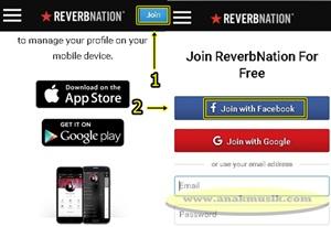 Cara Daftar Akun Reverbnation Terbau
