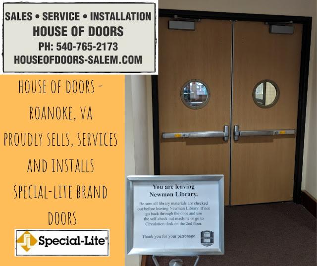 House of Doors - Roanoke, VA Special-Lite Virginia Tech