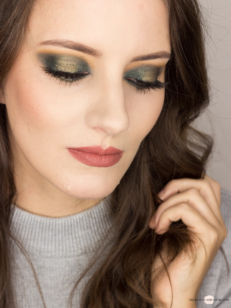 Green Halo Eye Eyeshadow Look Blogparade
