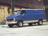 Chevy Van 1973 - AMT 1/25