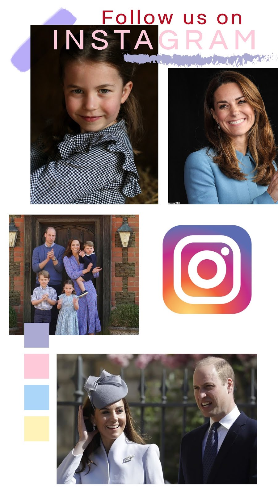 FOLLOW The Cambridge Family on INSTAGRAM