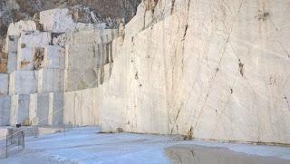 Pedreira Michelangelo, em Carrara, na Toscana