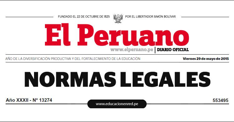 LEY Nº 30328 - Ley que establece medidas en materia educativa y dicta otras disposiciones - MINEDU - www.minedu.gob.pe