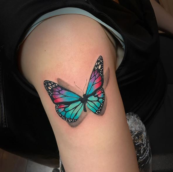 100+ Unique Butterfly Tattoos For Women With Meaning (2020