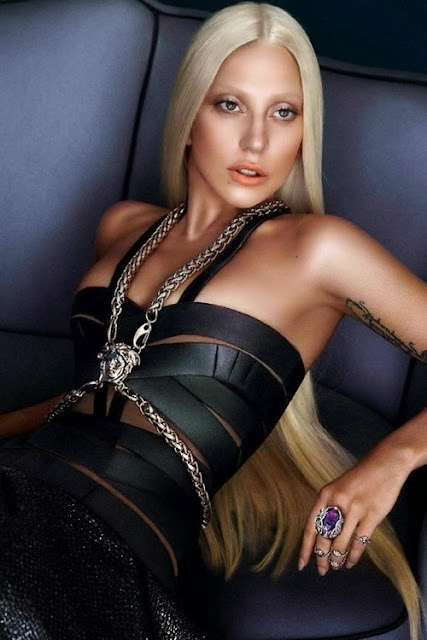 Image result for gaga versace