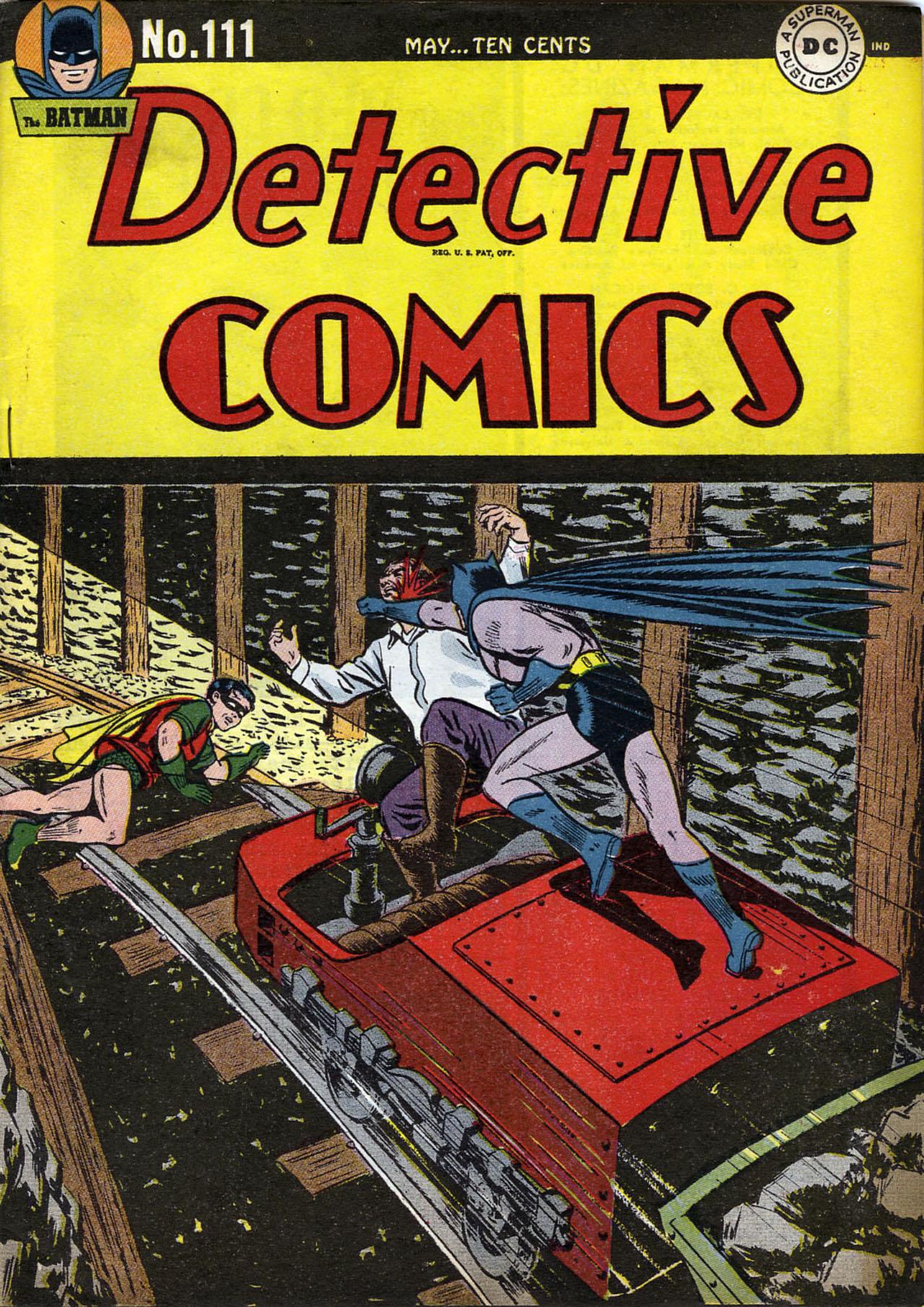 Read online Detective Comics (1937) comic -  Issue #111 - 1