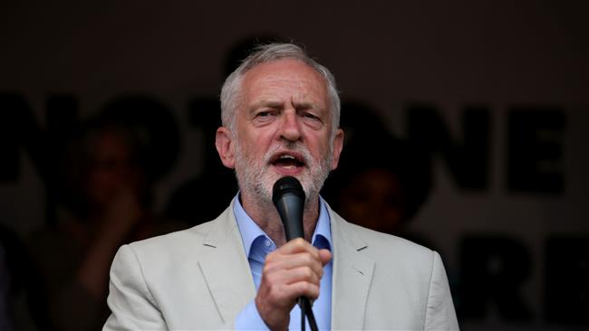 Britain's Labour Party leader Jeremy Corbyn calls for end to UK arms sales to Saudi Arabia