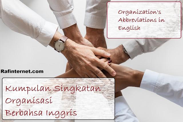 pict of Kumpulan Singkatan Organisasi Berbahasa Inggris