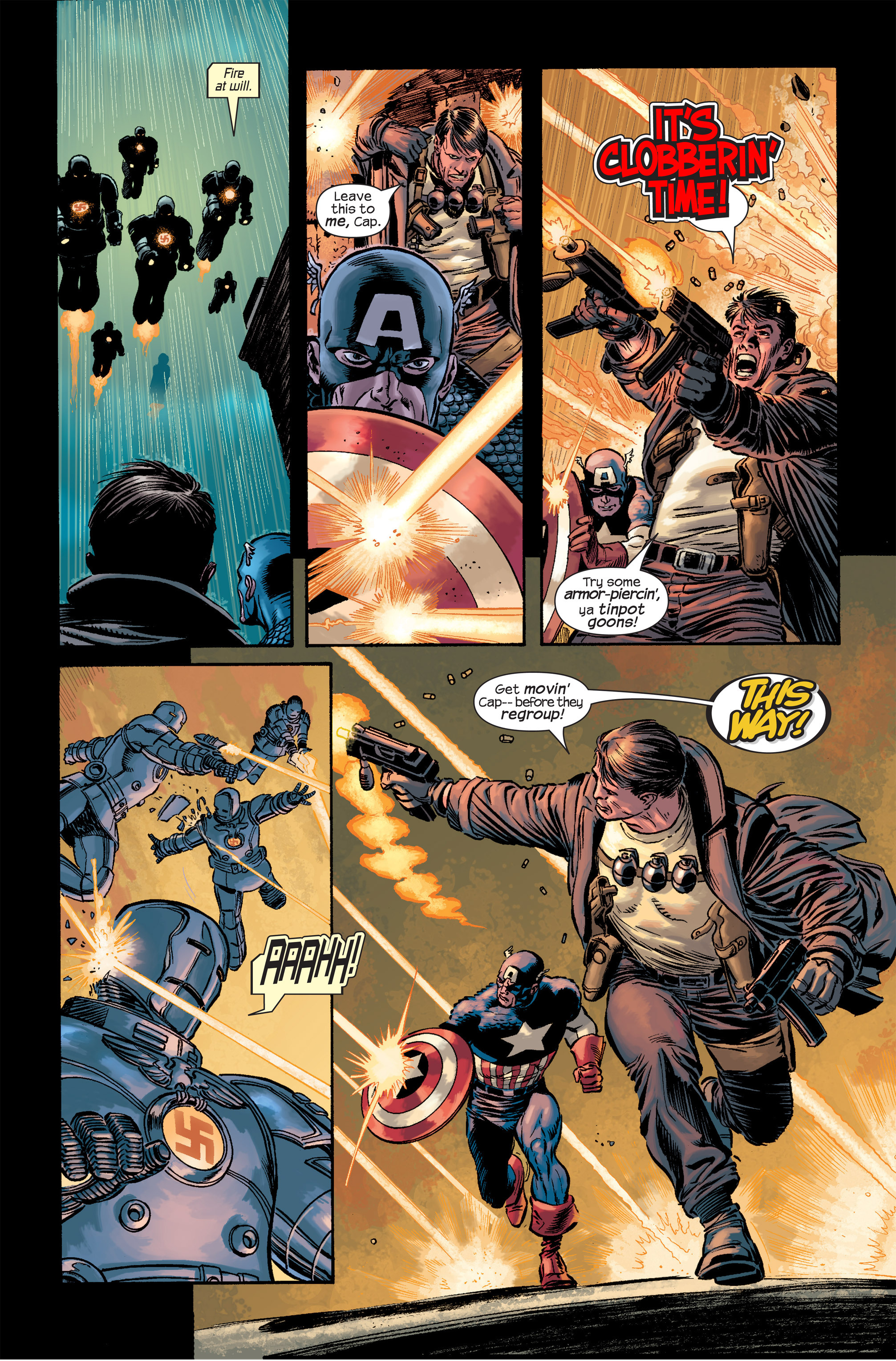 Captain America (2002) Issue #18 #19 - English 15