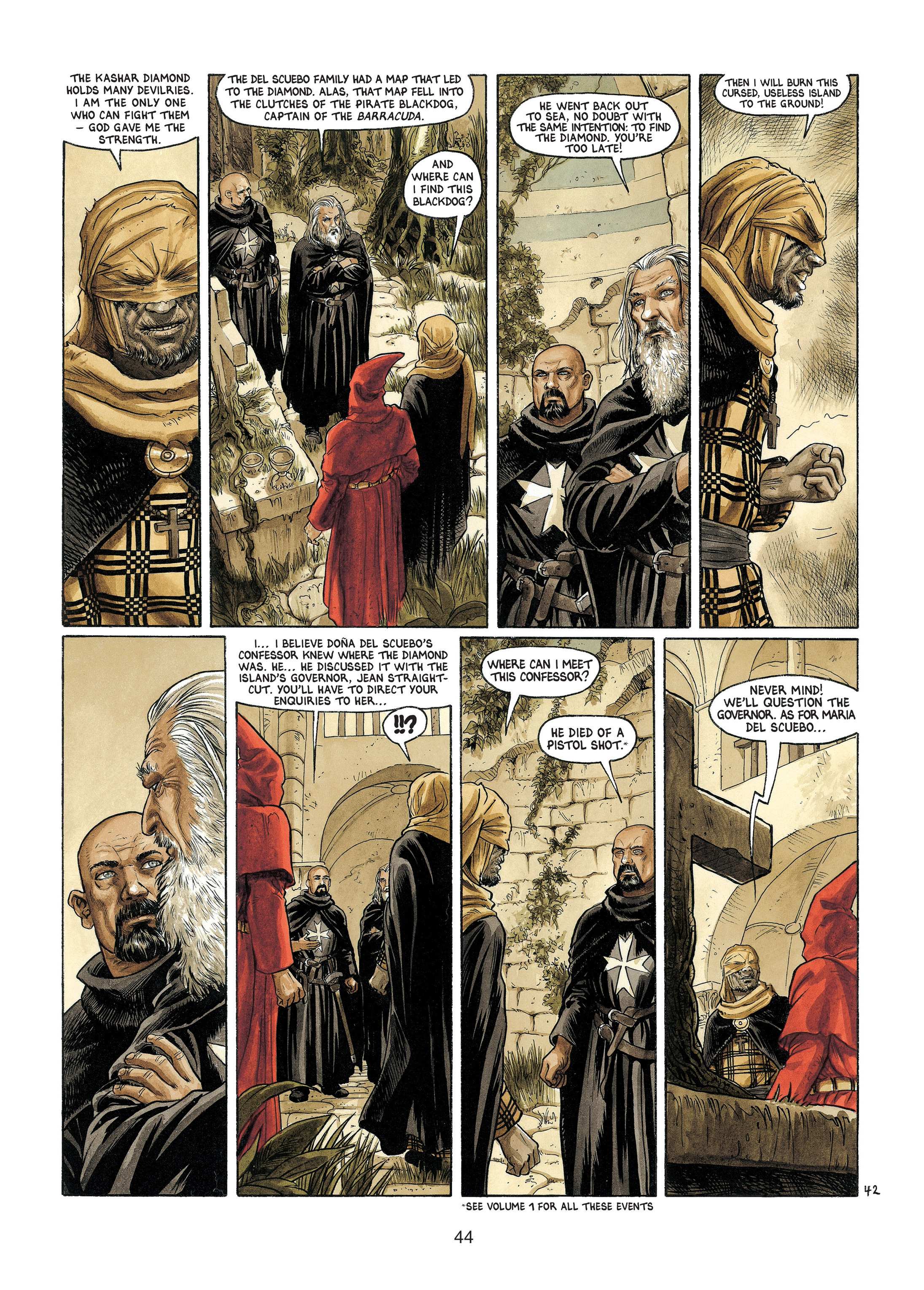 Read online Barracuda comic -  Issue #4 - 45