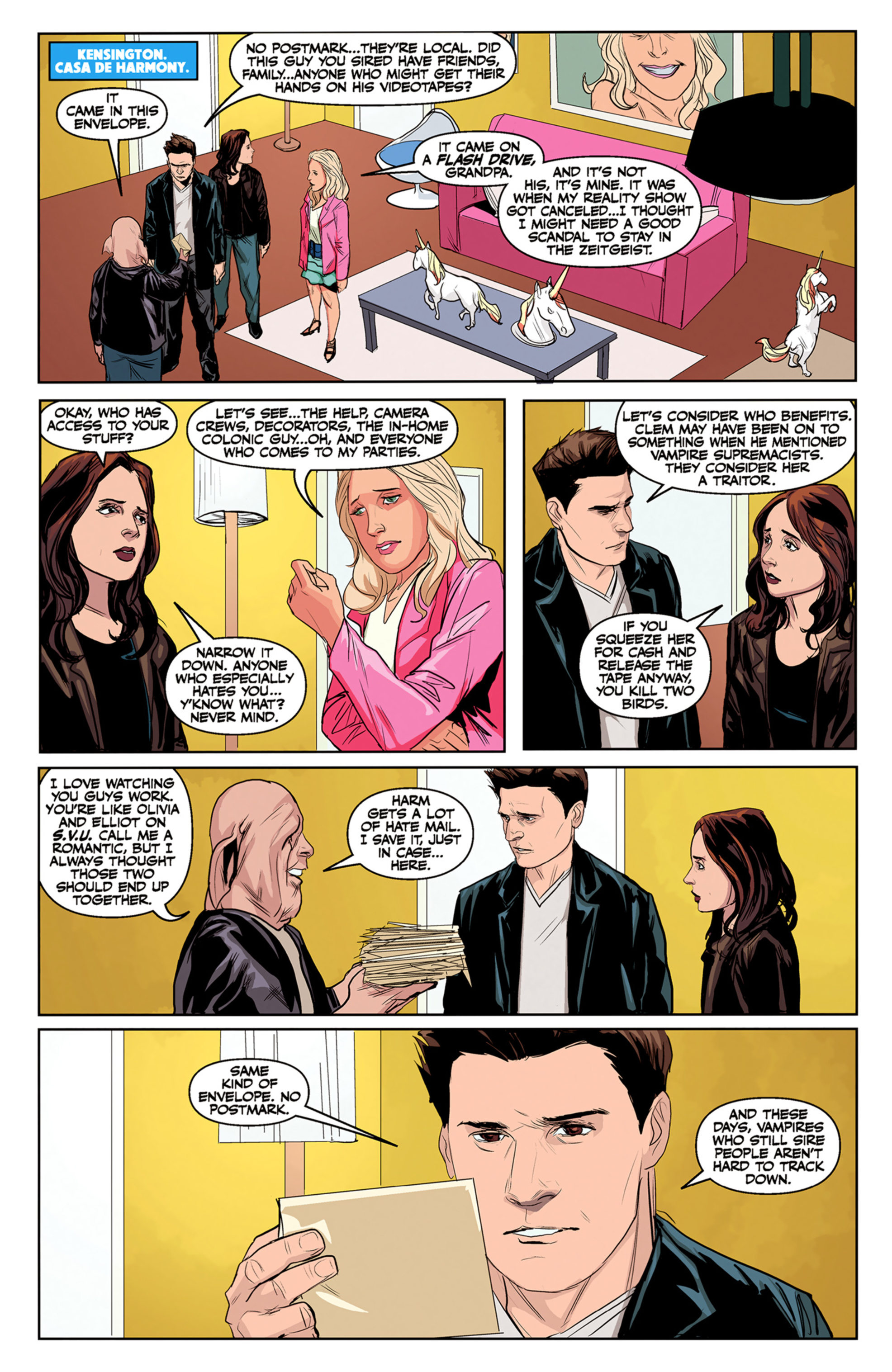 Read online Angel and Faith comic -  Issue #5 - 9