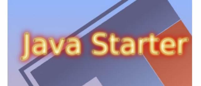 Curso online e gratuito de Java Starter.