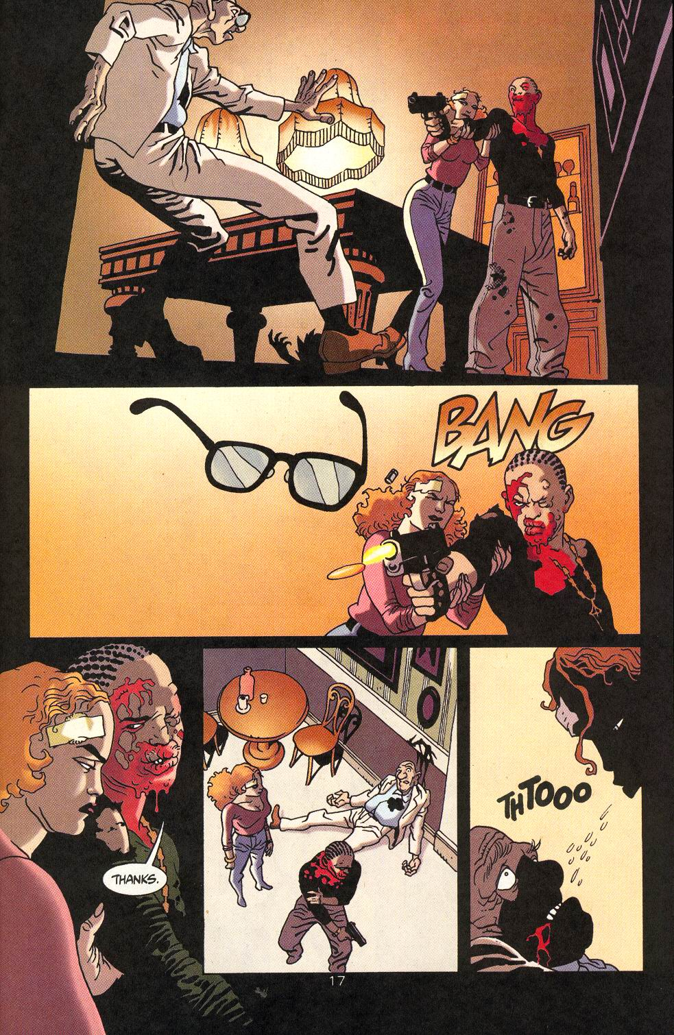 Read online 100 Bullets comic -  Issue #18 - 19