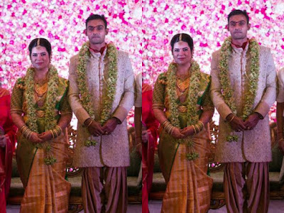 Actress Radhika Sarathkumar daughter Wedding Album