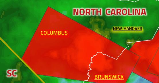 GeoFact of the Day: 9/5/2019 North Carolina Tornado Warning 2