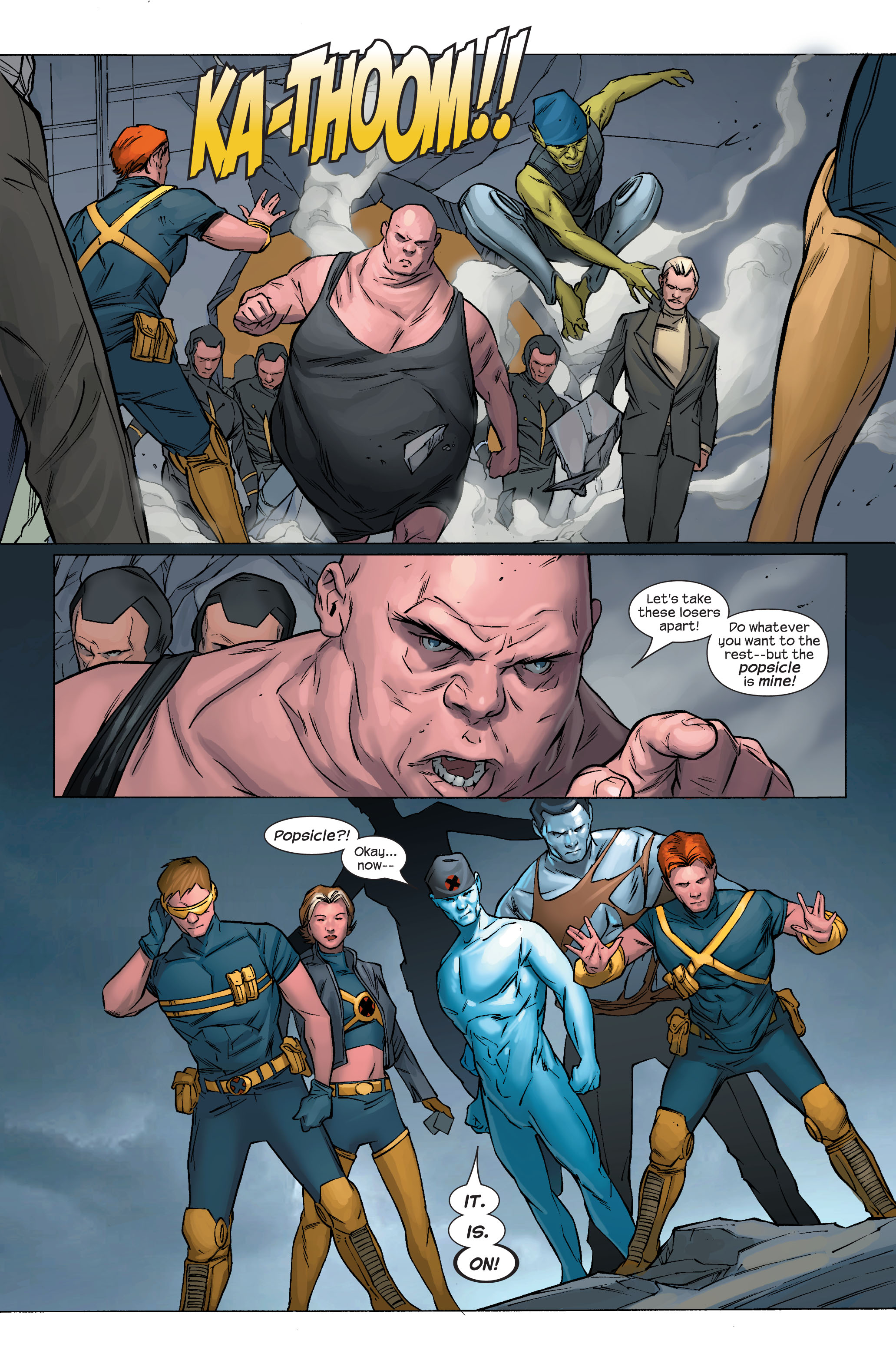 Read online Ultimate X-Men comic -  Issue #70 - 16