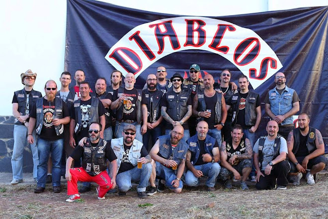 DIABLOS M.C.  TOY RUN 2010 HELLS ANGELS MC BARCELONA 4cfbe1e1701