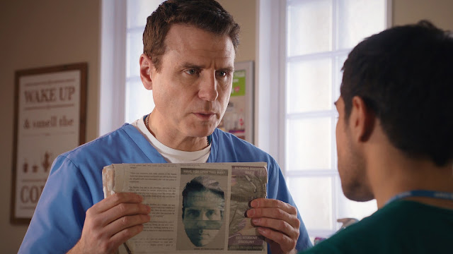 Casualty, BBC, Series 32, Episode 39, episode review, David, Jason Durr