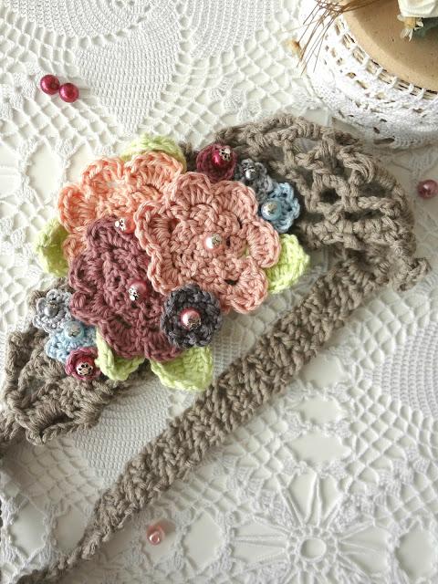 Crochet Flower Headband – new pattern available