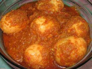 Resep Masakan Rendang Telur Spesial