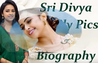 Actress Sri Divya Biography   Actress Sri Divya Family Photos   Sri Divya Biodata