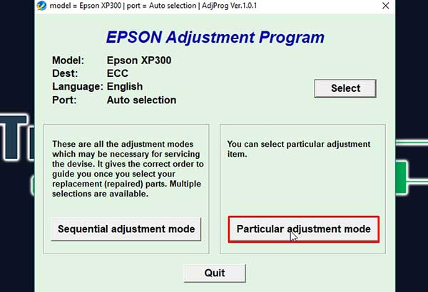 reset epson xp 216 adjustment program